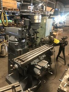 Acra Vertical Mill 9 X 42 Table 3 Hp
