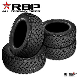 4 X Rbp Repulsor M T 35x12 50r20lt 121q 10ply Performance Off Road Mud Tires