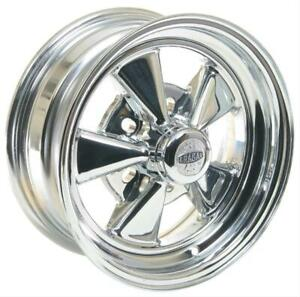 Cragar 08 61 S S Super Sport Chrome Wheel 14 X6 5x4 75 Bc Set Of 4