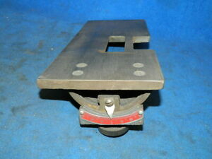 Foley Belsaw 1055 Sharp All Grinding Table Bed And Angle Adjuster