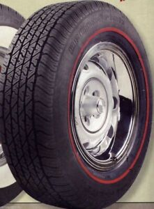 Bfg P215 65r15 Radial T a With 3 8 Redline Tire Need Year model Of Your Car 76