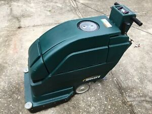 Tennant Nobles 20 in Disk Floor Scrubber Charger Included brand New Batteries