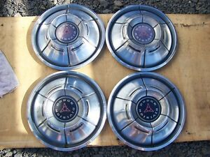 1970 Dodge Charger 14 Hubcaps 71 Dart Wheel Covers 1