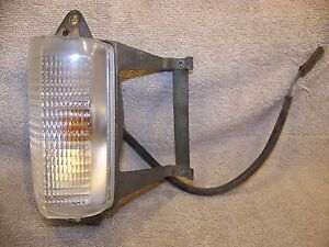 1971 Chrysler Imperial Ps Front Turn Signal Assy Lebaron Crown Coupe 34
