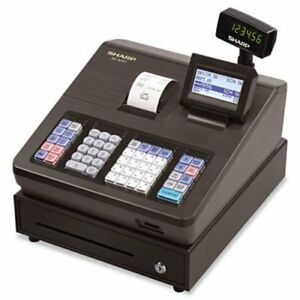 Sharp Xe Series Electronic Cash Register Thermal Printer Lcd shrxea207