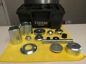 Oem Vw T10230 Hydraulic Press Bushing Assembly Tool Kit Used