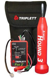 Triplett Fox amp Hound 3399 Premium Wire And Cable Tracing Kit With Tone And