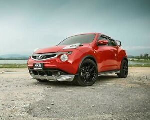Fits Nissan Juke 2011 15 Front Body Kit Painted Lip Diffuser Under Spoiler