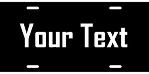 Customize Your Own License Plate Aluminum Auto Tag 10 License Plates Wholesale