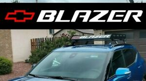Chevy Blazer Window Sticker Decal Windshield Vinyl Graphics