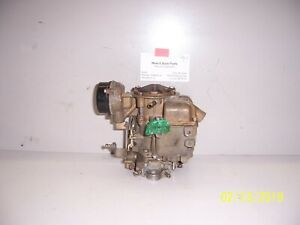Ford E F 150 350 1971 83 300 6cyl 1 Bbl Carb D5te Agb Carter Yf Rebuildable Core