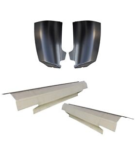 2007 2013 Silverado 2 Door Outer Rocker Panel And Cab Corner Pair