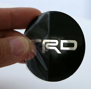 4 Pack Trd Wheel Center Hub Cap Sticker Decal 2 20 Dome Shape