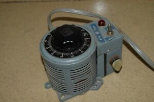 Superior Electric Powerstat Variable Transformer Type 117bt ww