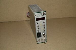Tennelec Tc534 Counter Timer Nim Bin Plug In