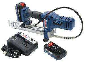 Lincoln 1264 12v Lithium ion Cordless Grease Gun Kit W 2 Battery