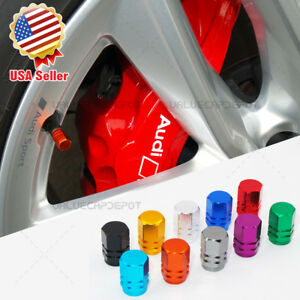 Universal Hexagon Shape Car Wheels Tyre Tire Valves Dust Stems Air Caps For Ford