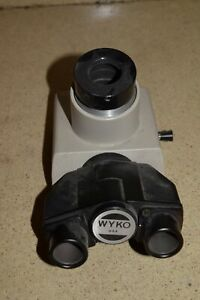 Wyko Microscope Part Trinocular Head Nikon Interferometer Optics Bin g5 01