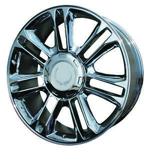 Chrome Plated 14 Spoke 22x9 New Wheel For 2007 2013 Cadillac Escalade