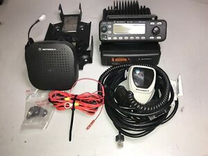 Motorola Uhf Mcs 2000 M01hx 627w M01rlm9pw6bn Complete Never Installed Benched