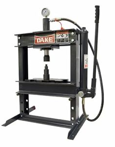 Dake 972200 B 10 Hydraulic Bench Press 10 Ton 6 Stroke