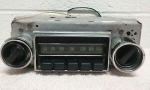 1968 Nova Chevy Ll Am Radio W Original Knobs One Year Only