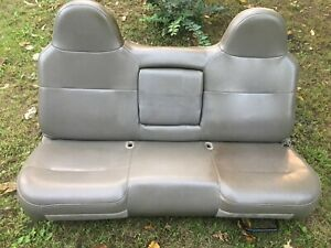 Front Seat Bench 1 Piece Vinyl Super Cab Fits 08 10 Ford F250sd Pickup 173428