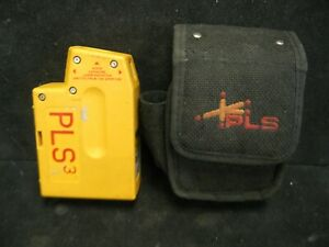 Pls 3 Laser Level Tool With Case Ships Free