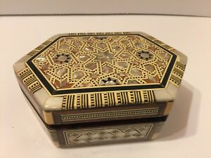 Vintage Trinket Box Inlay