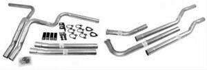 Dynomax 89003 Dual Exhaust Kit Fits 73 82 Gm 4wd Truck No Mufflers Or Tips 2 25