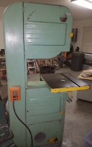 Heavy Duty 20 Delta Crescent Bandsaw With 1hp 3 Phase Motor