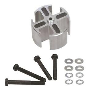 Fal 14536 Fan Spacer Aluminum 2 Thick 5 8 Pilot Spacer Bolts Washers Dodge Kit