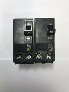 Square D Qo2125vh Plug on Circuit Breaker