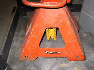 Snap On Tools Heavy Duty Jack Stand No Shipping Local Pick Up Only