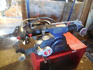 Used Ammco 4000b Newer Disc And Drum Brake Lathe W stand Adapters Local Pickup