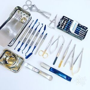 New Dental Prf Grf Box Set Implant Surgery Process Kit Surgical Instruments Ce A
