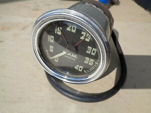 1955 1956 1957 1958 1959 Gmc Chevy Factory Stewart Warner Model 760 Tachometer