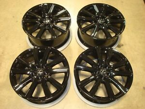 19 2013 15 Lexus Gs 350 F Sport Wheels Rims Black Oem Factory Alloy Gs