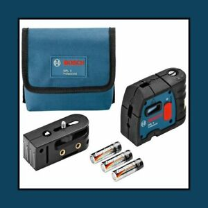 Bosch Gpl5 5 point Alignment Laser Accessories Included Brand New Usa