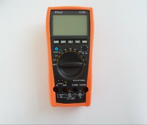 New Vc99 3 6 7 Auto Range Digital Multimeter Meter Ac Dc Ohm Hz Fluke Lead Dmm