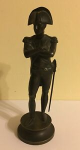 Signed Pradier Bronze Classic Statue Of Napoleon 9 5 Tall