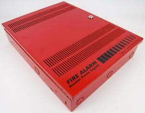 Est Edwards Fire Alarm Remote Booster Power Supply Panel W Harness P n 3302497