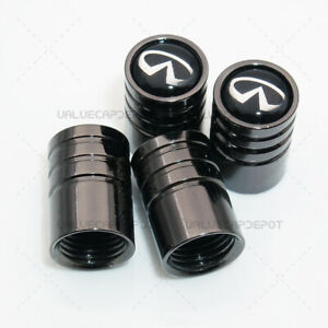 Universal Black Chrome Wheel Tire Air Valve Caps Stem Valve Cover For Ii Emblem