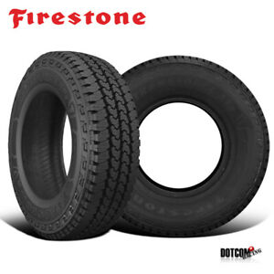 2 X New Firestone Transforce At 2 265 75r16 123 120r Tire