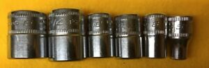 Snap on 18 Sockets Impact Regular Metric Magnetic free Priority Shipping