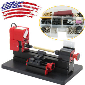 6in1 Lathe Diy Machine Tool Kit Jigsaw Milling Lathe Drilling Machine 20000rpmus