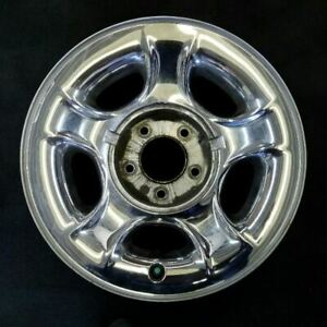 17 Inch Chrome Ford F150 Pickup Expedition 2000 2003 Oem Factory Steel Rim 3398