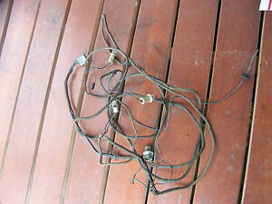 1965 Plymouth Satellite Trunk Taillight Wiring Harness Belvedere Oem