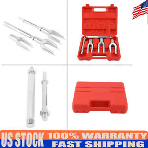 5pc Set Tie Ball Joint Rod Pitman Arm Tool Separator Remover Kit Brand New