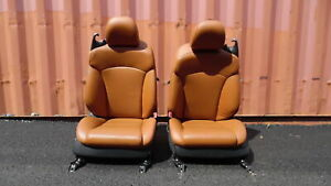 11 12 13 Lexus Is250 Convertible Front Leather Bucket Seats W Airbag Rh